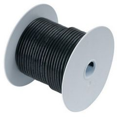 Ancor Black 8 AWG Tinned Copper Wire - 25' - Boat Electrical Component-small image