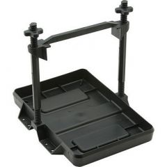 Attwood HeavyDuty AllPlastic Adjustable Battery Tray 27 Series-small image