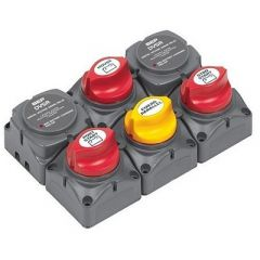 Bep Battery Distribution Cluster FTwin Outboard Engines WThree Battery Banks-small image