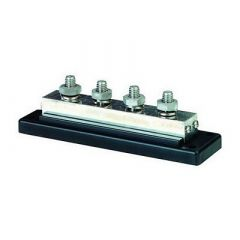 Blue Sea 2104 Powerbar 600amp Cable Connector 4 X 38 16 Stud Terminal-small image