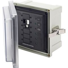 Blue Sea 3116 Sms Surface Mount System Panel Enclosure 120v Ac 30a Elci Main 3 Blank Circuit Positions-small image