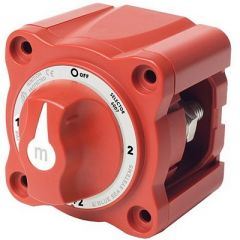 Blue Sea 6007 MSeries Mini Battery Switch Selector Four Position Red-small image