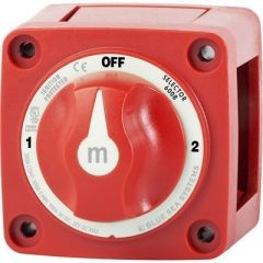 Blue Sea 6008 MSeries Battery Switch 3 Position Red-small image