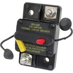 Blue Sea 7186 80 Amp Circuit Breaker Surface Mount 285 Series-small image
