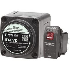 Blue Sea 7635 m-LVD Low Voltage Disconnect - Marine Electrical-small image