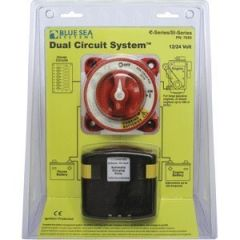 BLUE SEA 7650 SOLENOID/BATTERY DUAL CIRCUIT SYSTEM - Marine Electrical Part-small image