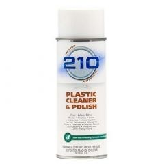 Camco 210 Plastic Cleaner Polish 14oz Spray Case Of 12-small image