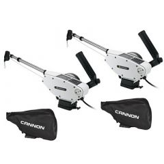 Cannon Optimum 10 Tournament Series Ts Bt Electric Downrigger 2Pack WBlack Covers-small image