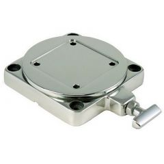 Cannon Stainless Steel Low Profile Swivel Base-small image