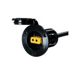Cannon Flush Mount Power Port Black-small image