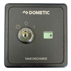 Dometic Tank Discharge Controller 24v Black-small image