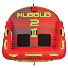 Full Throttle Hubbub 2 Towable Tube 2 Rider Red-small image
