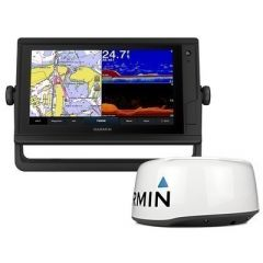 Garmin Gpsmap 942xs Plus Touchscreen GpsFishfinder Combo WGmr 18hd Radar-small image