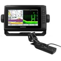 Garmin Echomap Uhd 74cv Us Offshore G3 WGt24uhdTm Transducer-small image