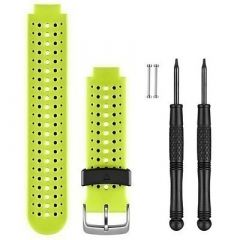 Garmin Replacement Watch Bands Yellow Silicone-small image