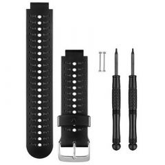 Garmin Replacement Watch Bands Black Gray Silicone-small image