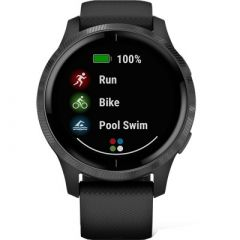 Garmin Venu Sportswatch, Black/Slate REFURB 010-N2173-11-small image