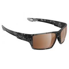 H2optix Ashore Sunglasses Matt Tiger Shark, Brown Lens Cat 3 Antisalt Coating WFloatable Cord-small image