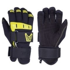 Ho Sports Wakeboard MenS World Cup Gloves BlackYellow XSmall-small image