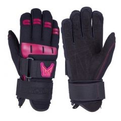 Ho Sports Wakeboard WomenS World Cup Gloves BlackPink XLarge-small image