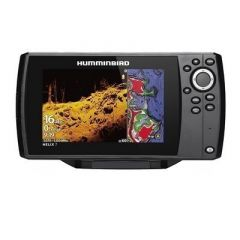 Humminbird Helix 7 Chirp Mega Di FishfinderGps Combo G3 WTransom Mount Transducer-small image