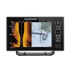 Humminbird Solix 10 Chirp Mega Si FishfinderGps Combo G2 WTransom Mount Transducer-small image