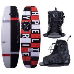 Hyperlite Motive Wakeboard 119cm WRemix Boot Junior 2021 Edition-small image