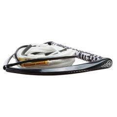 Hyperlite 75 Rope WChamois Handle Fuse Mainline Combo White 5 Section 15 Handle-small image