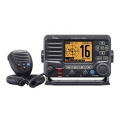 Icom M506 Vhf Fixed Mount WFront Mic, Ais Nmea 01832000 Black-small image