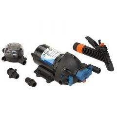 Jabsco ParMax Washdown Pump Kit 40gpm60psi12vdc Includes Strainer-small image