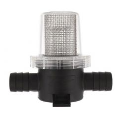 Jabsco Pumpgard InLine Strainer 34 Hose 40 Mesh-small image