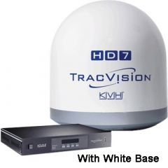 KVH TracVision HD7, N.A, 28 Inch, REFURB, White 01-0323-01WH-R-small image