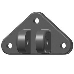 LENCO STANDARD LOWER MOUNTING BRACKET (3 BOLT) - Trim Tab Parts-small image