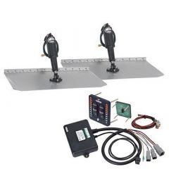 Lenco 12 X 12 Standard Trim Tab Kit WLed Integrated Switch Kit 12v-small image