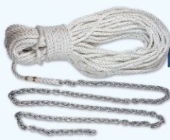 "Lewmar 10' 1/4"" G4 Chain W/150' 1/2"" Rope - Boat Winches/Windlass-small image"