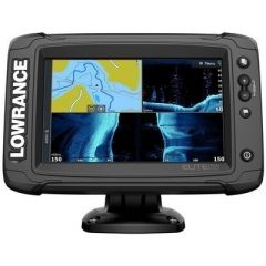 Lowrance Elite7 Ti2 Combo WActive Imaging 3In1 Transom Mount Transducer Us Inland Chart-small image