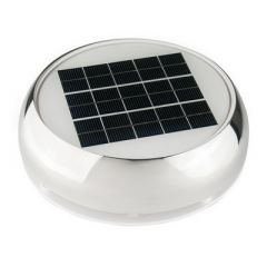 Marinco 4 DayNight Solar Vent Stainless Steel-small image