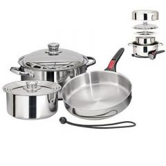 Magma Nestable 7 Piece Induction Cookware - On-Board Cooking Supplies-small image
