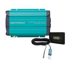 Mastervolt Powercombi Pure Sine Wave InverterCharger 1200w 12v 50a Kit-small image
