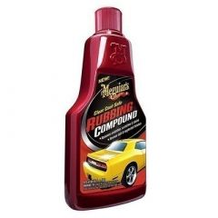 MeguiarS Clear Coat Safe Rubbing Compound 16oz Case Of 6-small image