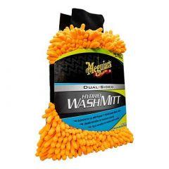 MeguiarS Hybrid Wash Mitt Extremely Plush Microfiber Wash Mitt FGently Waxing While Washing-small image