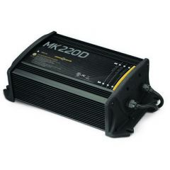 Minn Kota MK-220D 2 Bank x 10 Amps - On-Board Battery Charger-small image