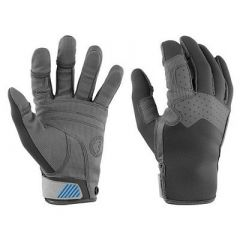 Mustang Traction Full Finger Glove GrayBlue XLarge-small image