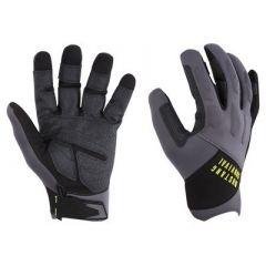 Mustang Ep 3250 Full Finger Gloves Large GreyBlack-small image
