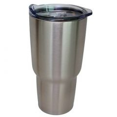 Norchill 30oz Stainless Steel Tumbler WClear Lid-small image