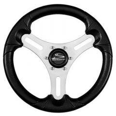 Schmitt Ongaro 13 Torcello Lite Polyurethane Wheel 34 Tapered Hub SilverBlack-small image