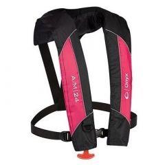Onyx AM24 AutomaticManual Inflatable Pfd Life Jacket Pink-small image