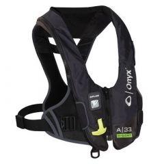 Onyx Impulse A33 InSight Automatic Inflatable Life Jacket Pfd Black-small image
