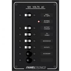 Paneltronics Standard Ac 6 Position Breaker Panel Main-small image