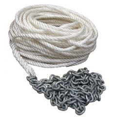 Powerwinch 200 Of Rope 15 Of 516 Ht Chain Rode-small image